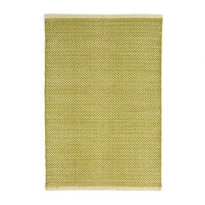 DASH & ALBERT LATTICE WOVEN COTTON RUG - CITRUS