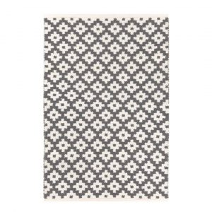 DASH & ALBERT SAMODE INDOOR/OUTDOOR RUG - GRAPHITE