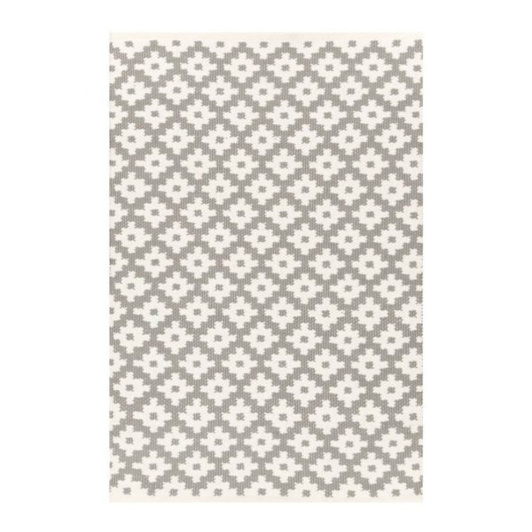 DASH & ALBERT SAMODE INDOOR/OUTDOOR RUG - STONE
