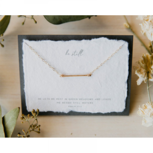DEAR HEART - BE STILL NECKLACE