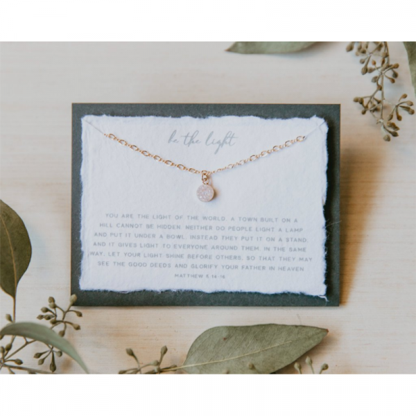 DEAR HEART - BE THE LIGHT NECKLACE