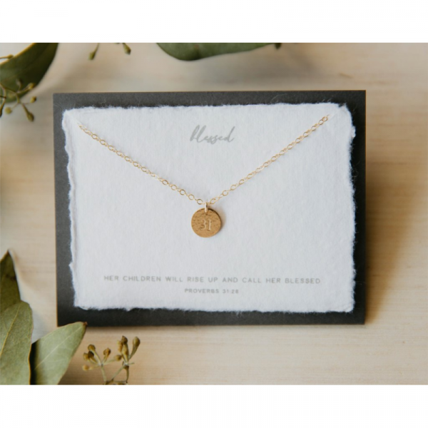 DEAR HEART - BLESSED NECKLACE