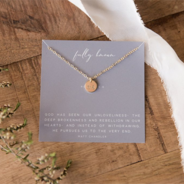 DEAR HEART - FULLY KNOWN NECKLACE