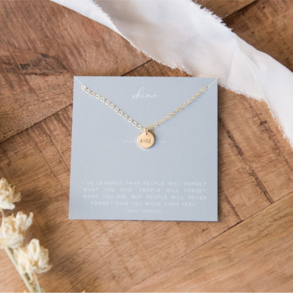 DEAR HEART - SHINE NECKLACE