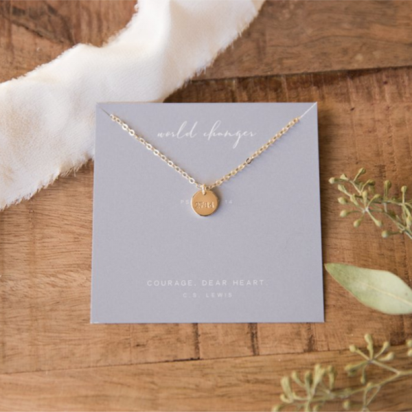 DEAR HEART - WORLD CHANGER NECKLACE
