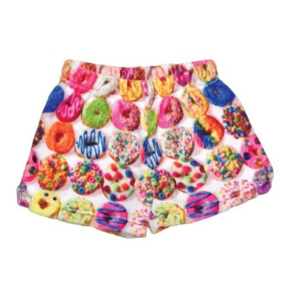 DONUTS PLUSH SHORTS