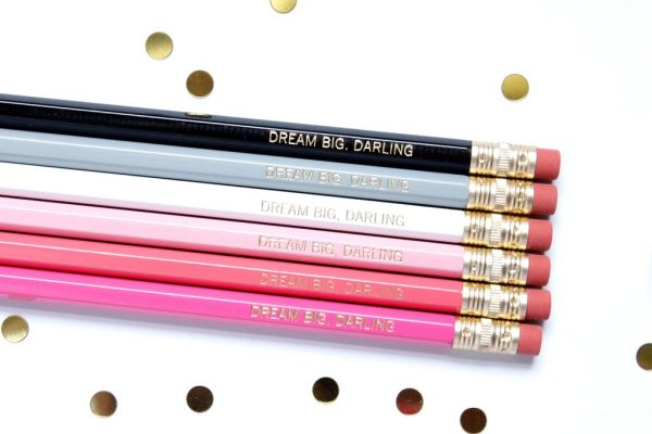 DREAM BIG DARLING PENCIL SET