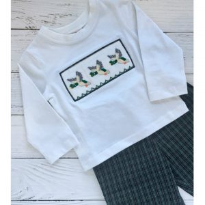 DUCK LONGSLEEVE SHORTS SET