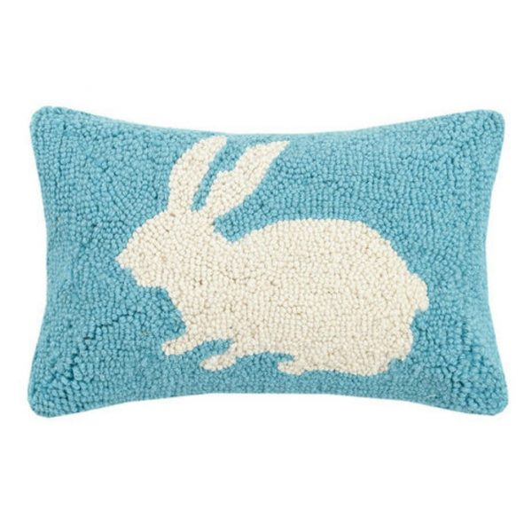 EASTER BUNNY HOOK PILLOW