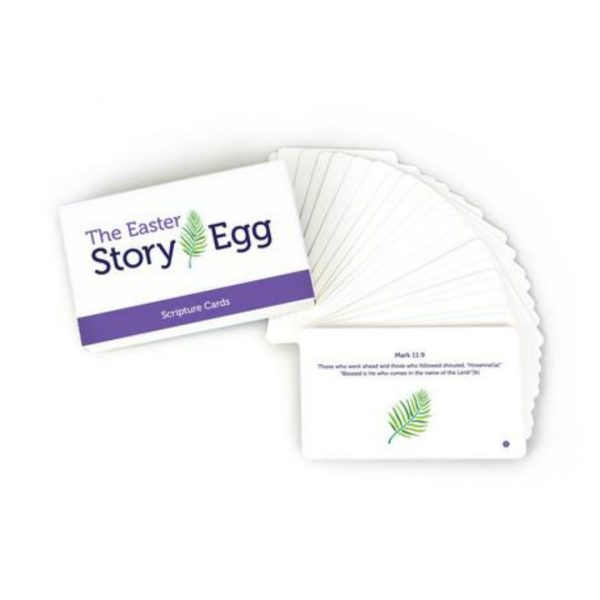EASTER STORY EGG SCRIPTURE CARDS