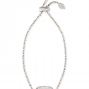 KENDRA SCOTT ELAINA BRACELET IN RHODIUM