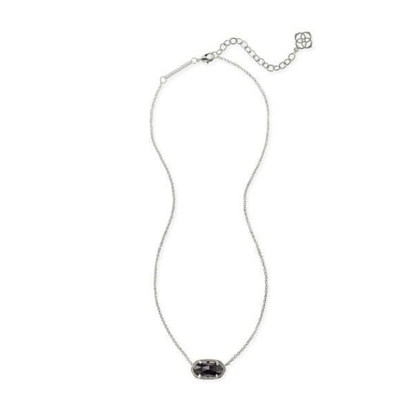 KENDRA SCOTT ELISA NECKLACE IN RHODIUM