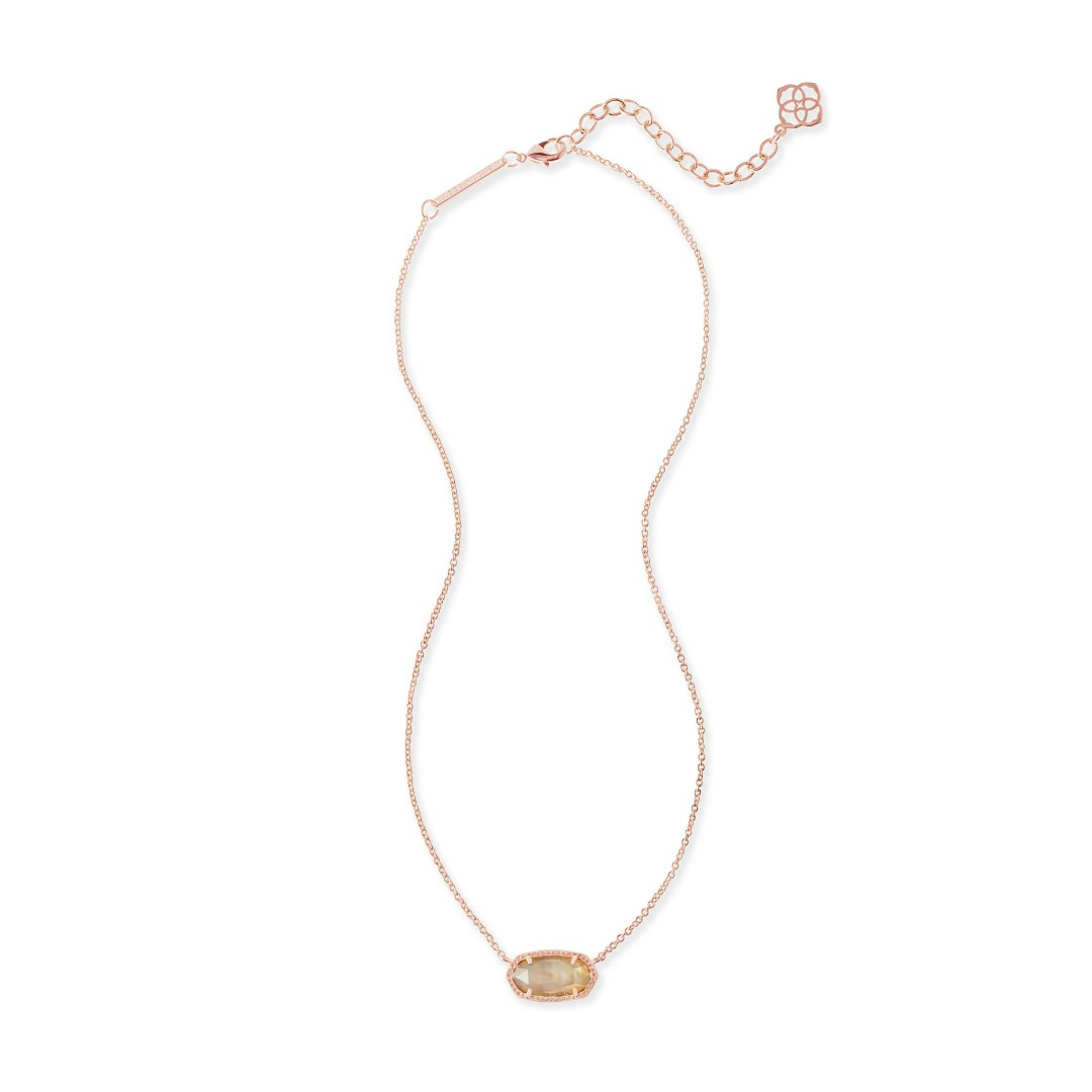 KENDRA SCOTT ELISA NECKLACE IN ROSE GOLD