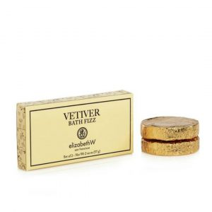 ELIZABETH W VETIVER BATH FIZZ TABLETS