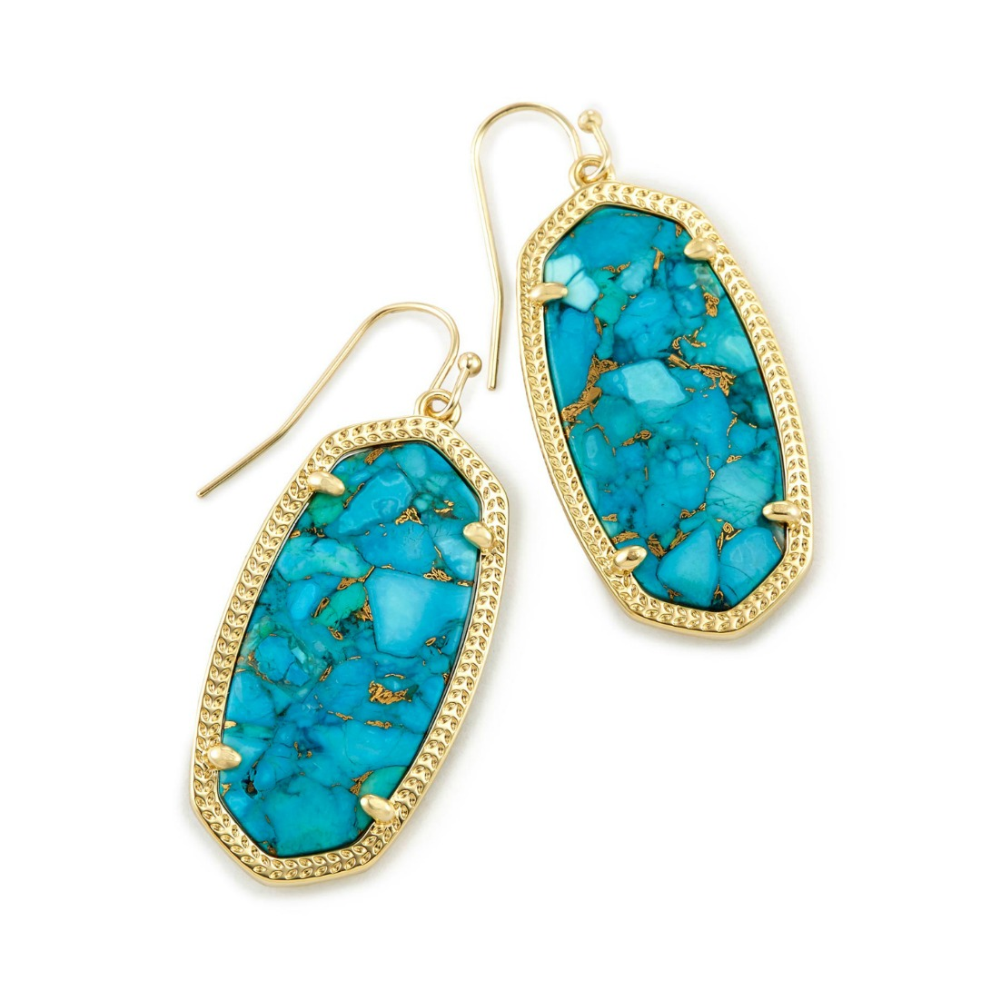 KENDRA SCOTT ELLE EARRINGS IN GOLD