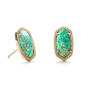 KENDRA SCOTT ELLIE EARRINGS IN GOLD