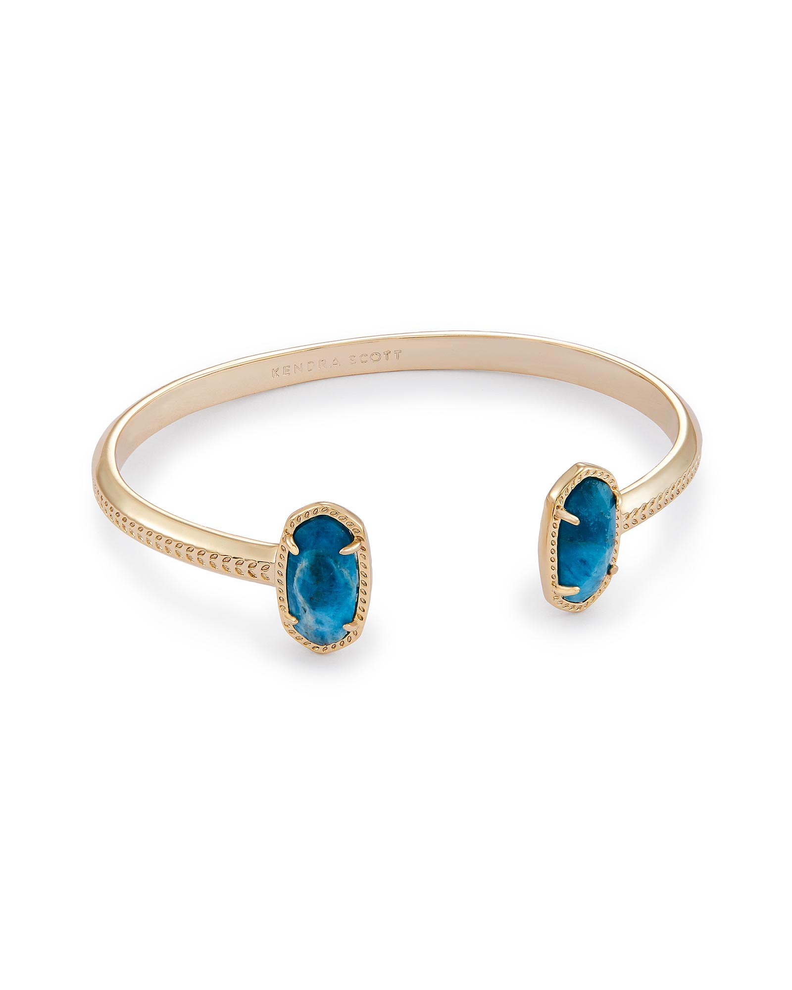KENDRA SCOTT ELTON BRACLET IN BRASS