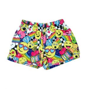 EMOJI PARTY PLUSH SHORTS