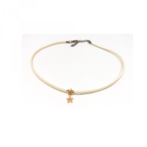 ERIN GRAY ASHBY CHOKER WITH STAR