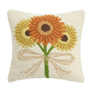 FALL DAISIES HOOK PILLOW