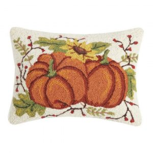 FALL PUMPKIN DUO HOOK PILLOW