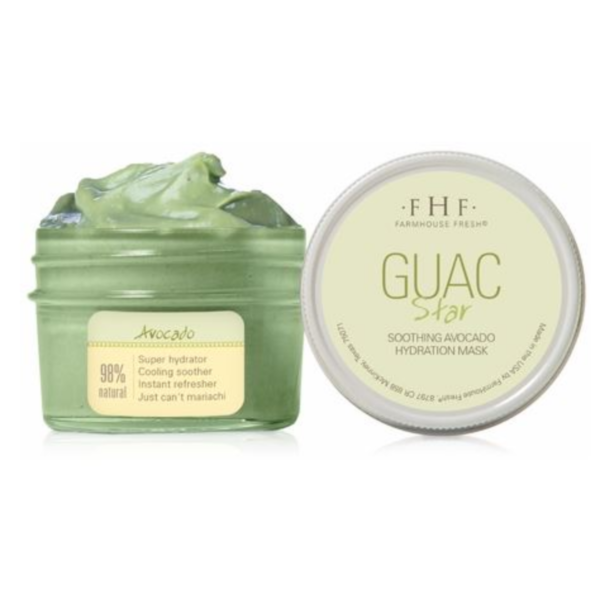 FARMHOUSE FRESH GUAC STAR AVOCADO FACE MASK