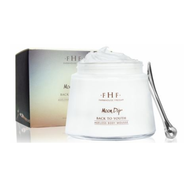FARMHOUSE FRESH MOON DIP BACK TO YOUTH AGELESS BODY MOUSSE