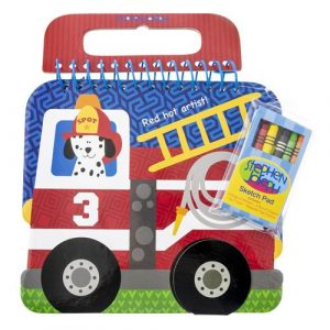FIRE TRUCK SKETCH PAD