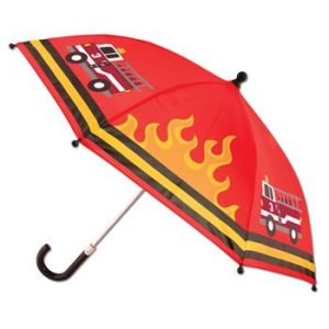 STEPHEN JOSEPH FIRE TRUCK UMBRELLA
