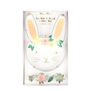 FLORAL BUNNY CUTTERS SET