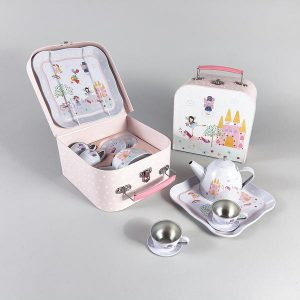 FLOSS & ROCK FAIRY TIN TEA SET