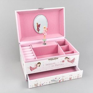 FLOSS & ROCK MUSICAL FAIRY BLOSSOM JEWELRY BOX
