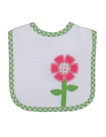 FLOWER FEEDING BIB