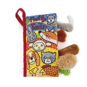 JELLY CAT FLUFFY TAILS BOOK