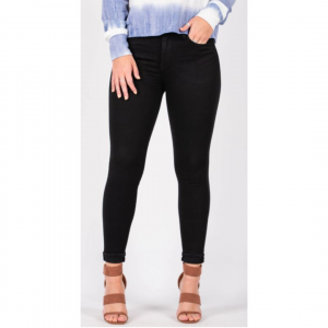 FLYING MONKEY RAVEN MID RISE ANKLE SKINNY JEANS