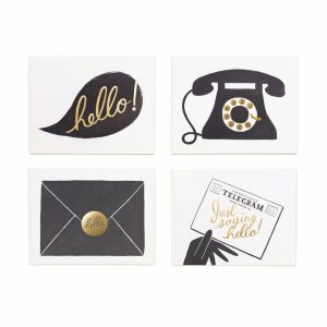 FOIL HELLO CARD SET
