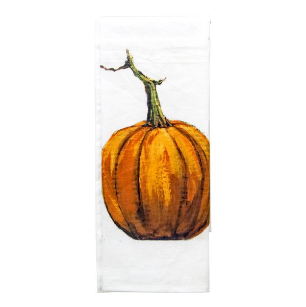 GALLERY ORANGE PUMPKIN TOWEL