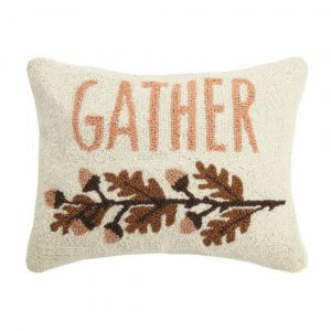 GATHER HOOK PILLOW