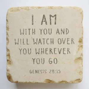 GENESIS 28:15 SMALL AND QUARTER STONE BLOCK