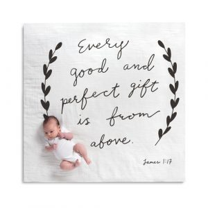 GIFT FROM ABOVE PHOTO SWADDLE