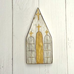 GINGER LEIGH DESIGNS MEDIUM BEESWAX CHURCH