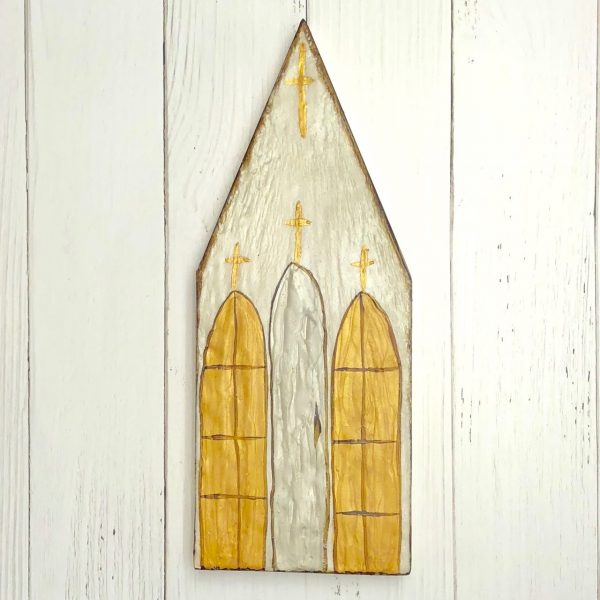 GINGER LEIGH DESIGNS XLARGE BEESWAX CHURCH