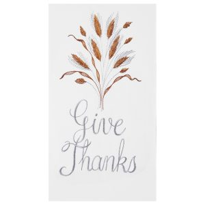GIVE THANKS TOWEL
