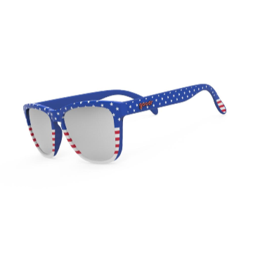 GOODR SUNGLASSES RED WHITE AND BOOZE