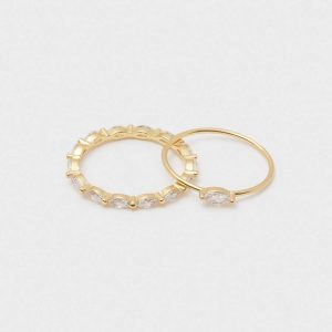 GORJANA GOLD LENA RING SET