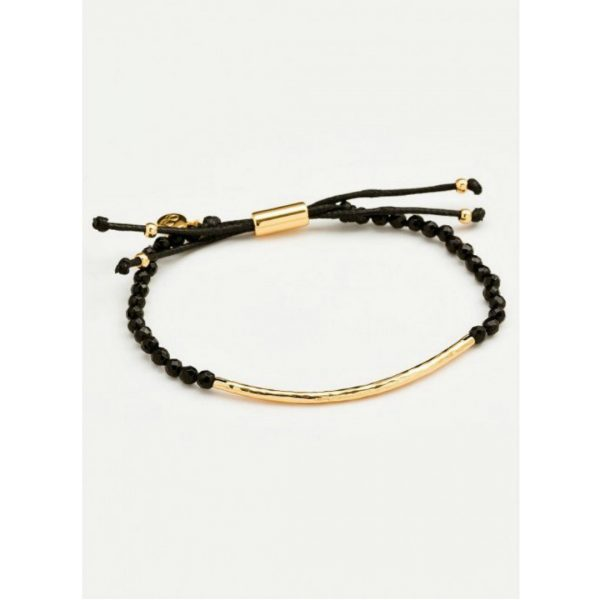 GORJANA POWER GEMSTONE GOLD BRACELET