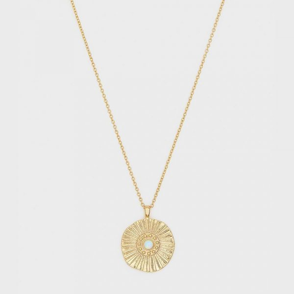 GORJANA SUNBURST COIN NECKLACE
