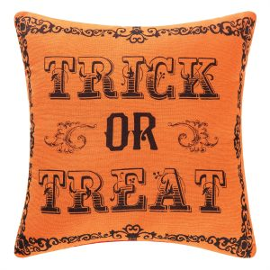 GOTH TRICK OR TREAT PILLOW