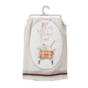 GRATEFUL WAGON DISH TOWEL