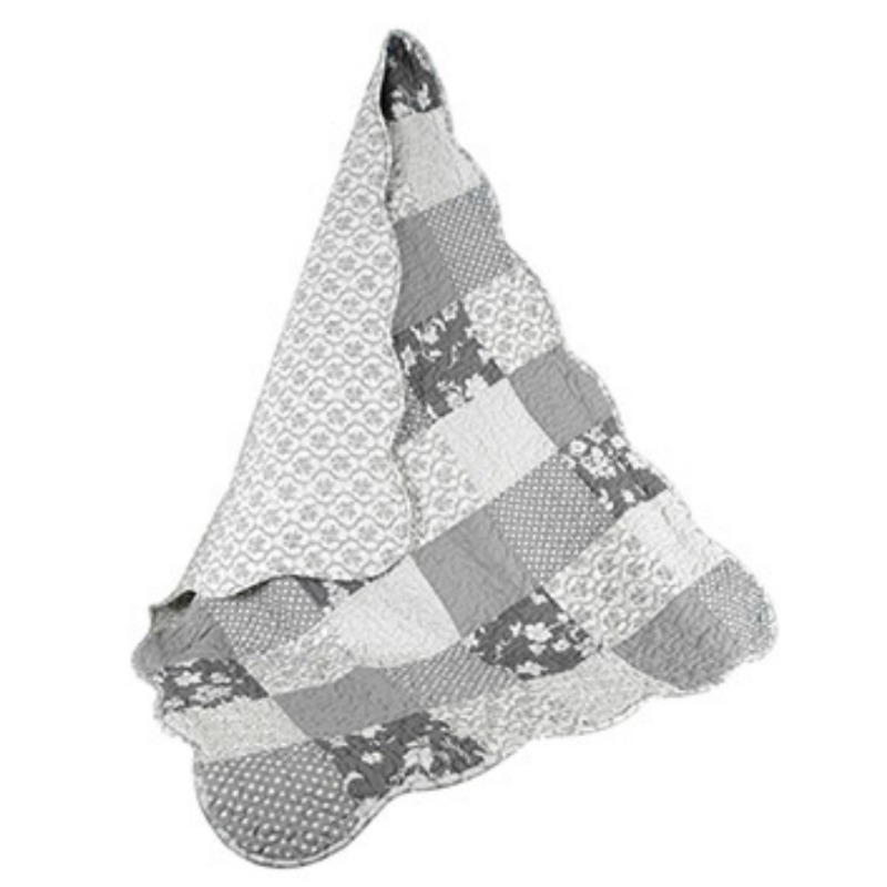 GRAY GIRL KEEPSAKE QUILT